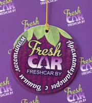 Автомобильные ароматизаторы с логотипом